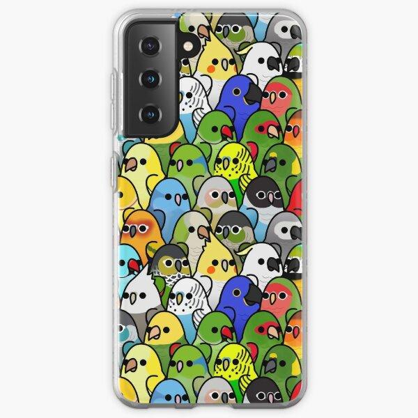 Too Many Birds! Bird Squad Classic Samsung Galaxy Soft Case
