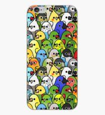 Zu viele Vögel! Vogelkader 1 iPhone-Hülle & Cover