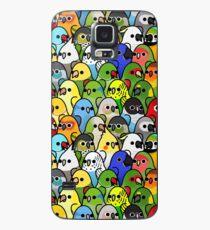 Zu viele Vögel! Bird Squad Classic Hülle & Klebefolie für Samsung Galaxy