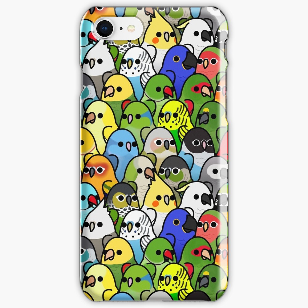 Too Many Birds! Bird Squad Classic iPhone Case & Cover