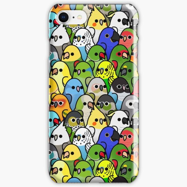 Too Many Birds! Bird Squad Classic iPhone Snap Case