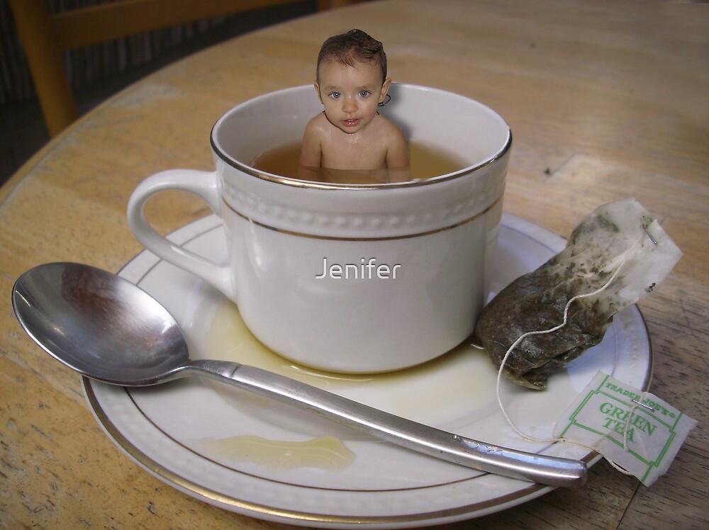 Tea Time by Jenifer