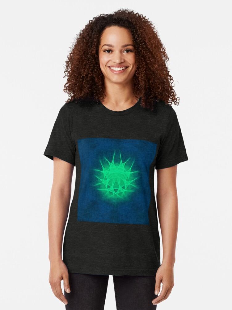 Alternate view of Insubstantial Star Tri-blend T-Shirt