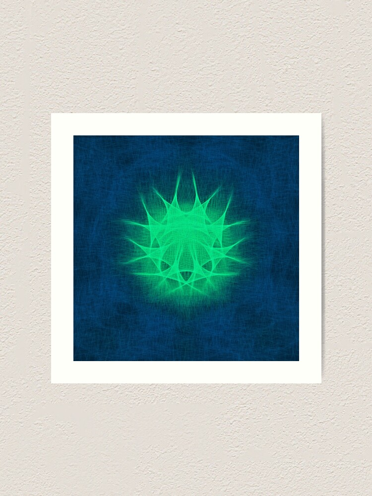 Alternate view of Insubstantial Star Art Print