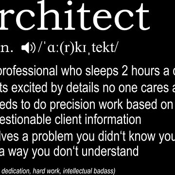Architect - Definition by nektarinchen