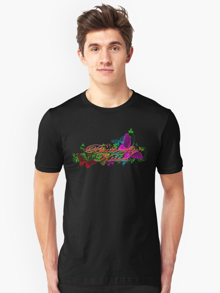Butterfly kisses Unisex T-Shirt Front
