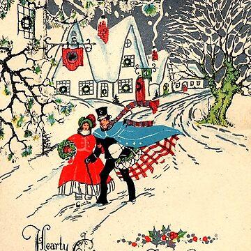 christmas card vintage by HelenCat