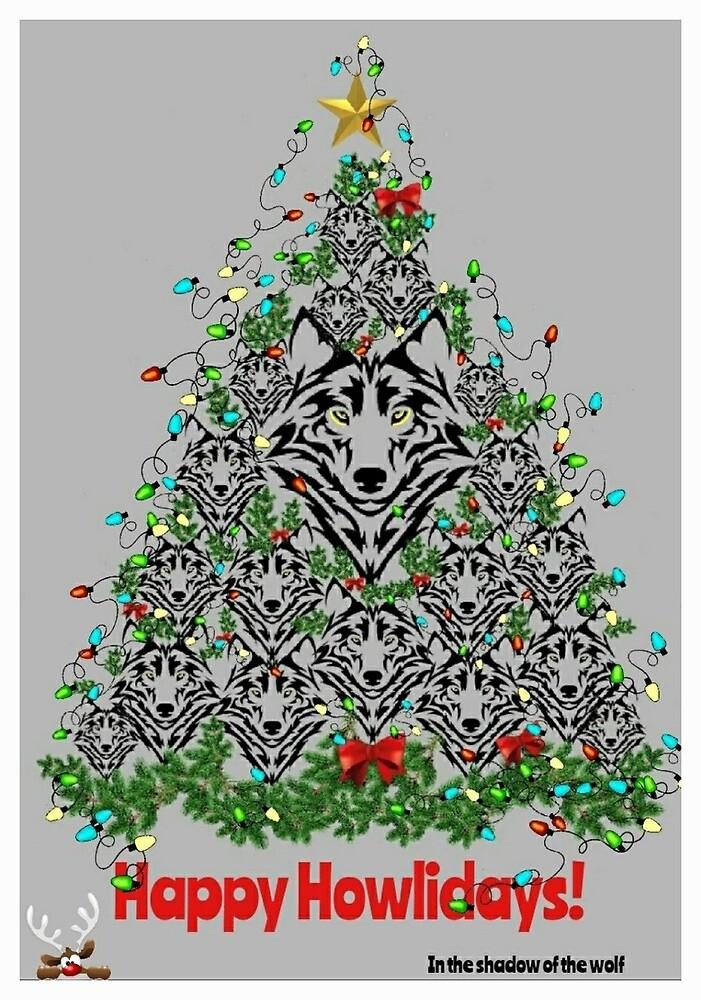 Happy Howlidays!  by WolfShadow27