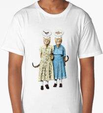 Two Cool Kitties: What's for Lunch? Long T-Shirt