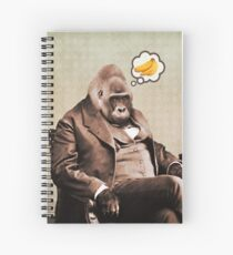 Gorilla My Dreams Spiral Notebook