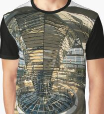 Fish eye of the Reichstag, Berlin, Germany Graphic T-Shirt