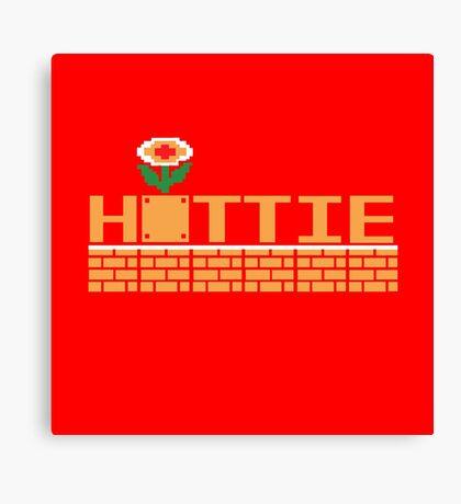 Hottie (pillow) Canvas Print