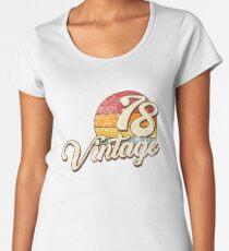 Vintage 1978  Women's Premium T-Shirt