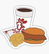 chick fil a meal Sticker