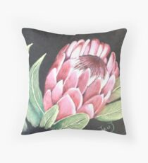 'Protea' Throw Pillow