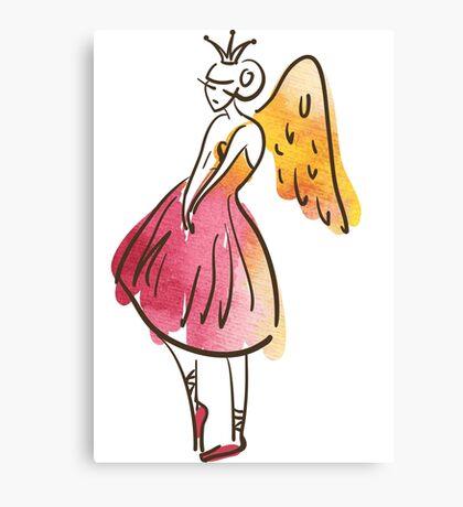 ballerina figure, watercolor Leinwanddruck