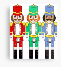 Nutcrackers Trio Metal Print