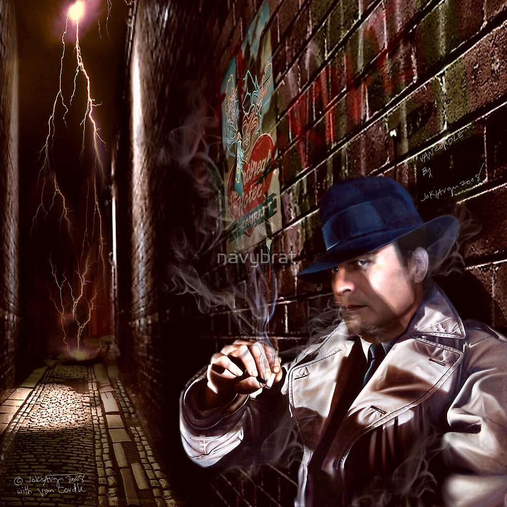VAN CORDLE P.I. : the man of mystery by navybrat