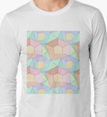Polygonal multi-color pattern. T-Shirt