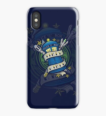 Timey Wimey (iphone case2) iPhone Case