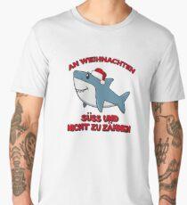 Lustiges Weihnachten Süßer Hai Motiv Geschenk Idee Men's Premium T-Shirt