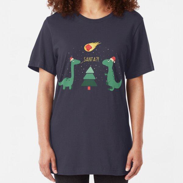Merry Extinction Slim Fit T-Shirt