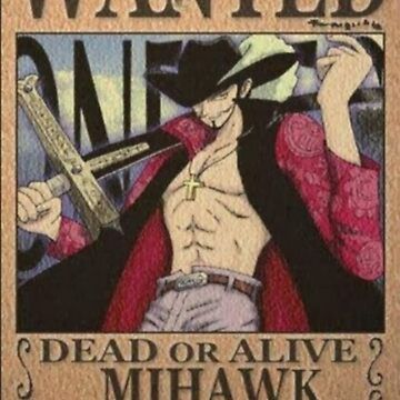 Wanted Mihawk - One Piece by yass-92
