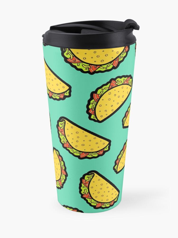Alternate view of It's Taco Time! Travel Mug