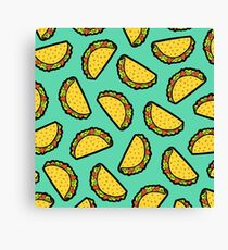 It's Taco Time! Canvas Print