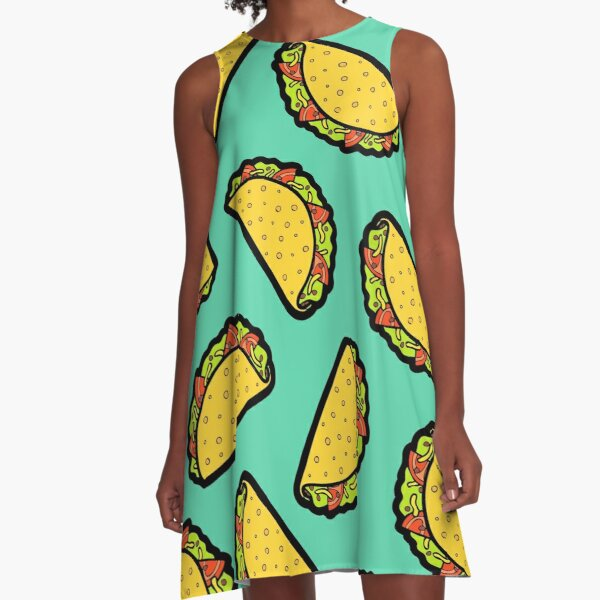 It's Taco Time! A-Line Dress