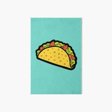 It's Taco Time! Art Board Print