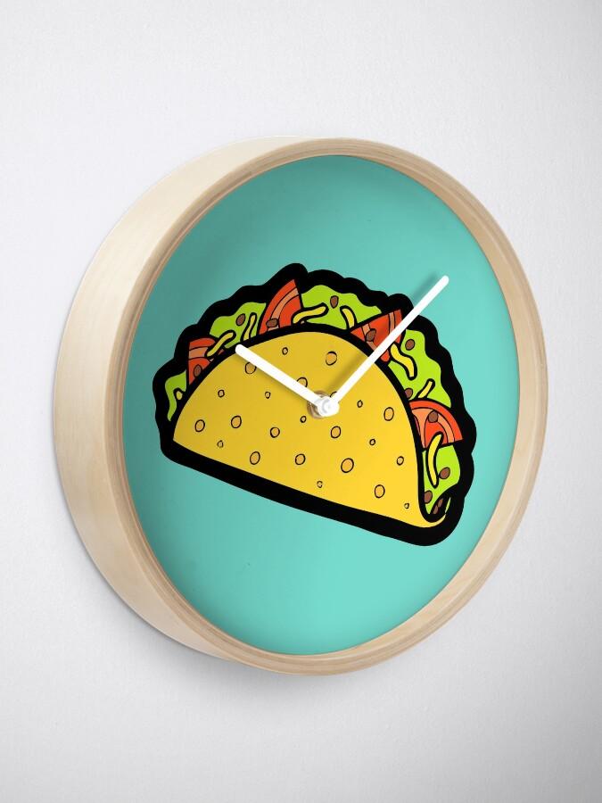 Vista alternativa de Reloj ¡Es el tiempo de Taco!