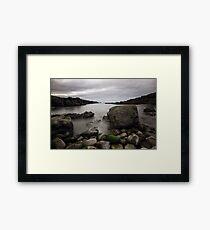 Rocky Bay at the Bridges of Ross Framed Print