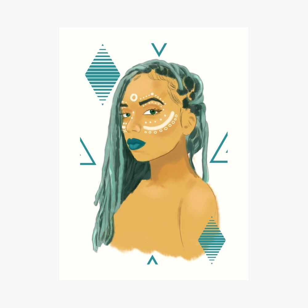Jade (Variant) Art Print