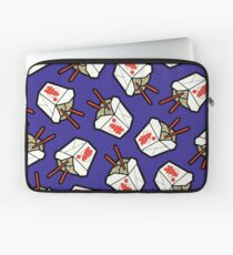 Take-Out Noodles Box Pattern Laptop Sleeve