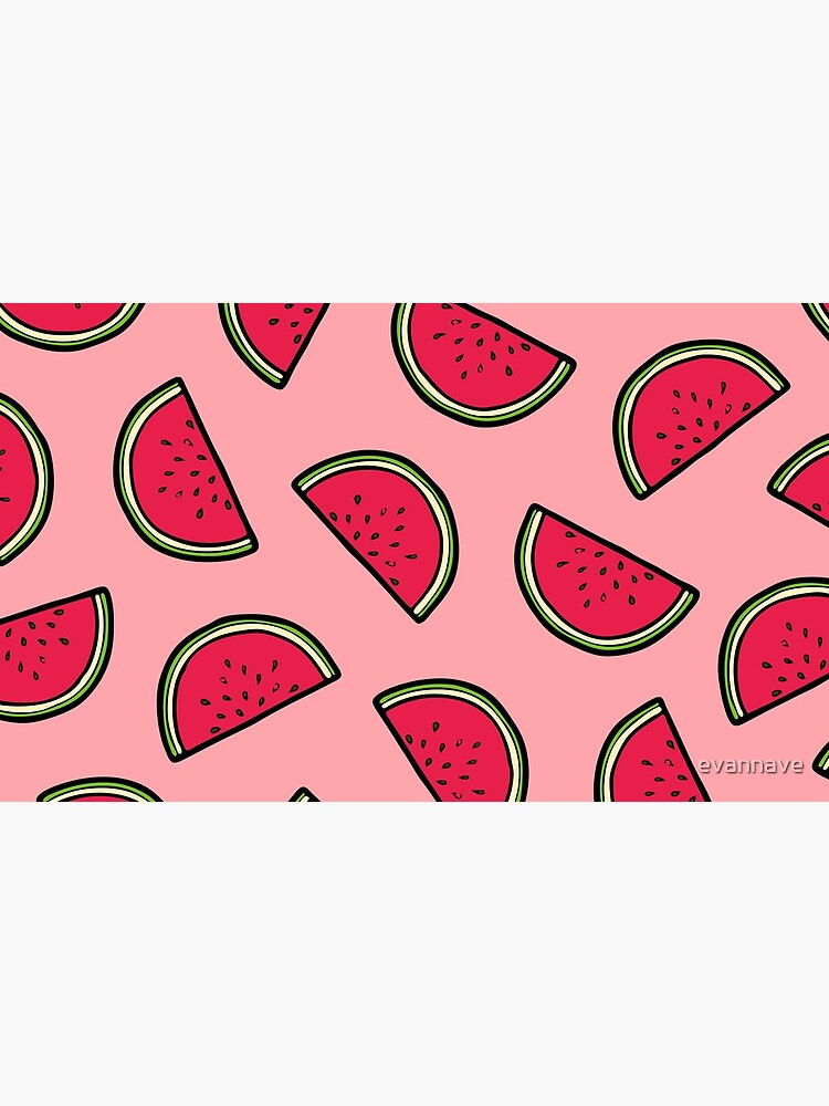 Watermelon Pattern in Pink by evannave