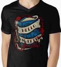 Hello Sweetie (T-shirt) Men's V-Neck T-Shirt