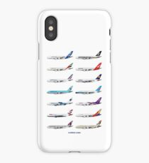 Airbus A380 Operators Illustration iPhone Case/Skin