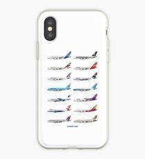 Airbus A380 Operators Illustration iPhone Case