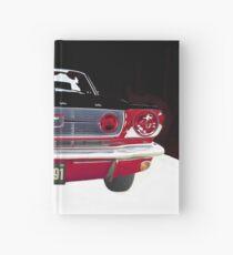 Mustang Vintage car Hardcover Journal