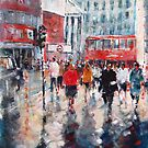 London Commuters - City Art Gallery by Ballet Dance-Artist