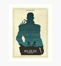 The Twin Snakes Art Print