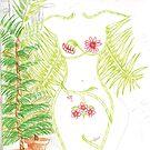 Flower lady by Emma Perkins
