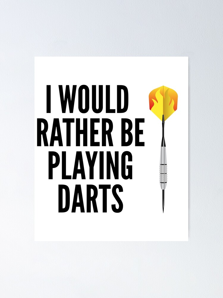 I/'d Rather Be Playing Darts Kids Sweatshirt