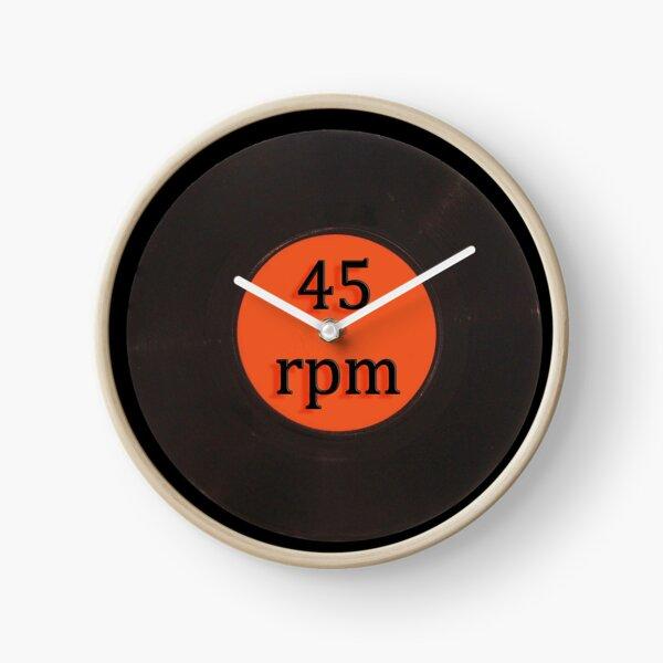 Vinyl record vintage 45 rpm 7 inch single Clock
