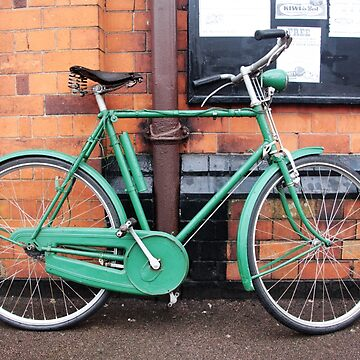 Green Bicycle by TomConway