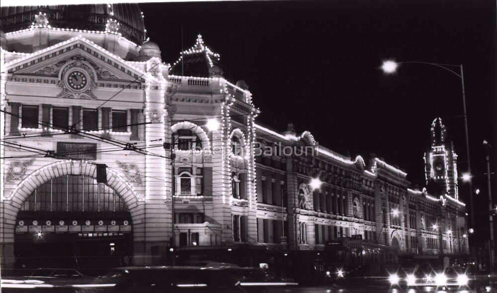 Flinders Street Station by Joseph Bailouni