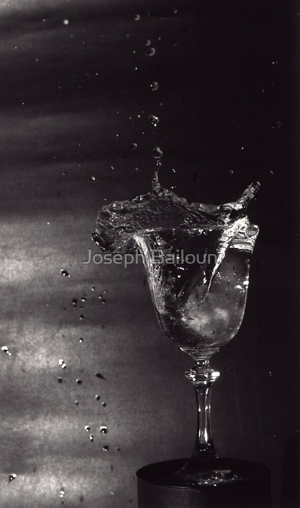 Splash of Water by Joseph Bailouni