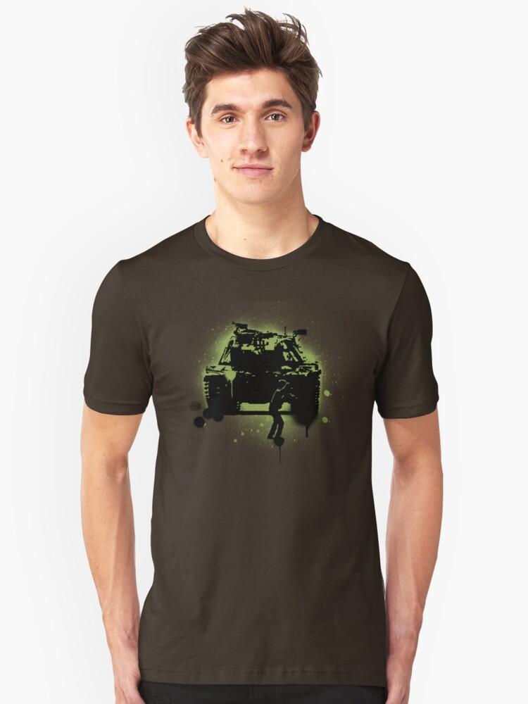 Tank Unisex T-Shirt Front