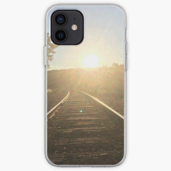 railroad iPhone Soft Case